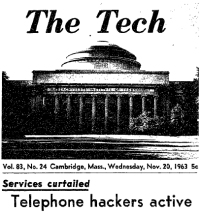 Telephone Hackers Active!