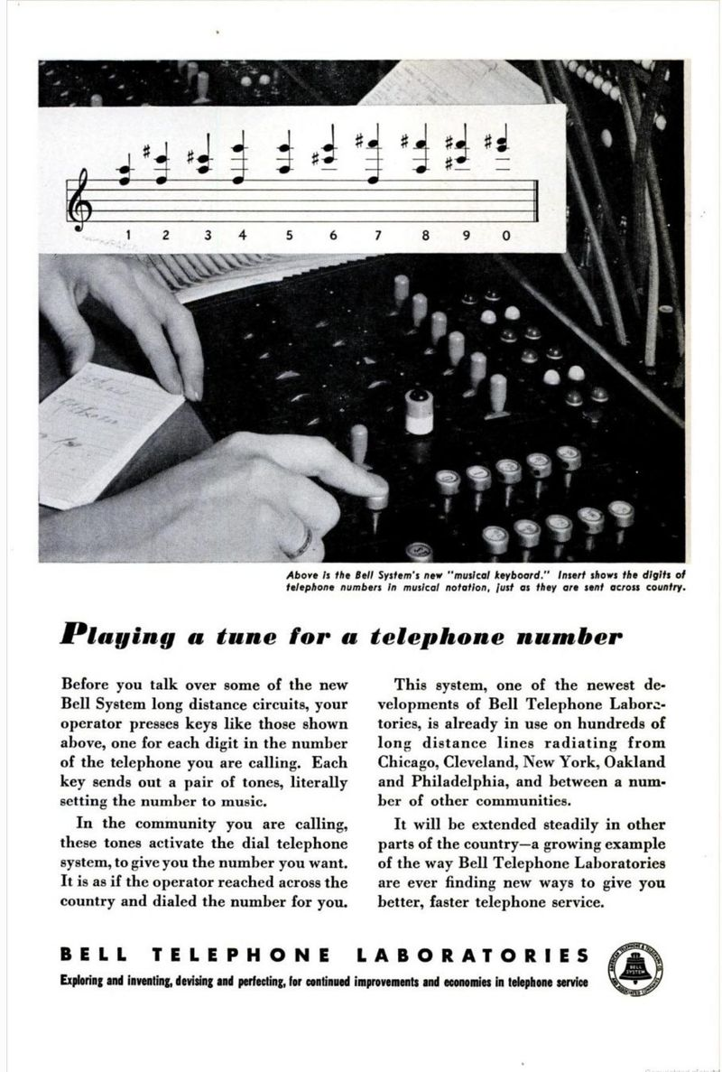 Pop Sci Feb 1950 p 6 - Playing a Tune For a Number
